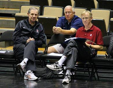 John Dunning, Russ Rose, Terry Liskevych