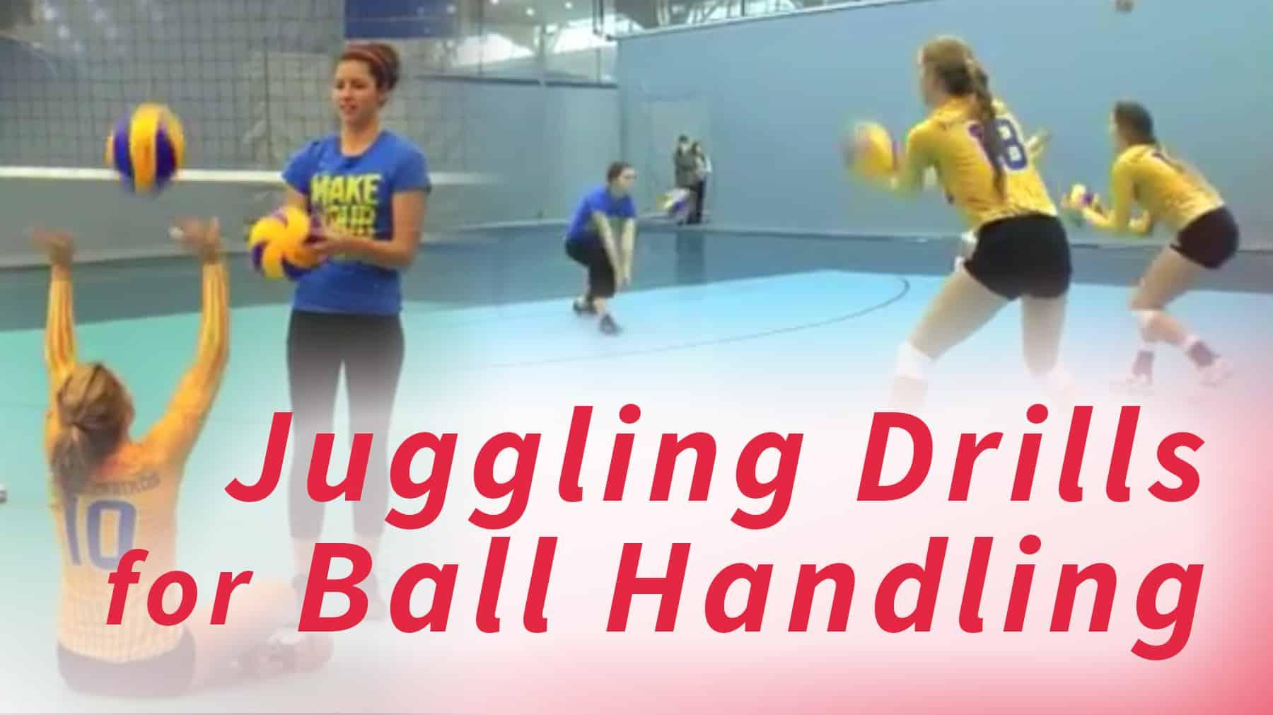 Juggling Drill For Ball Handling