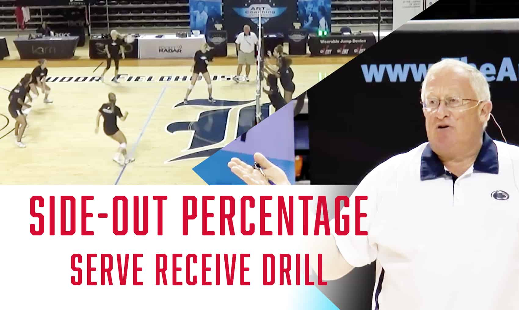 Side Out Percentage Serve Receive Drill