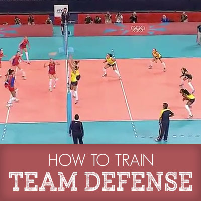 Team defense course