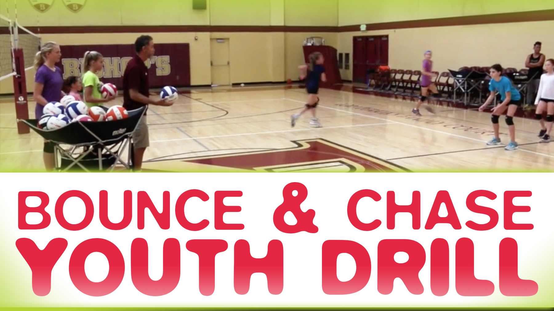 Bounce And Chase Beginners Drill