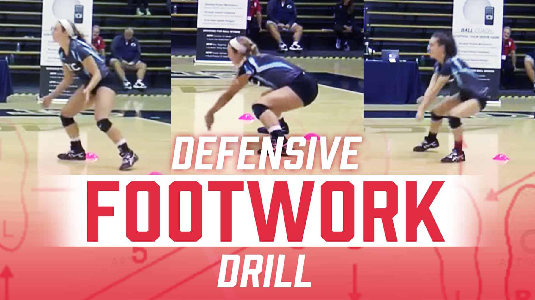 Defensive Footwork Drill With Joe Sagula