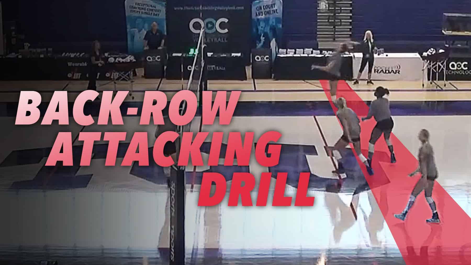 Back Row Drill With Jill Kramer