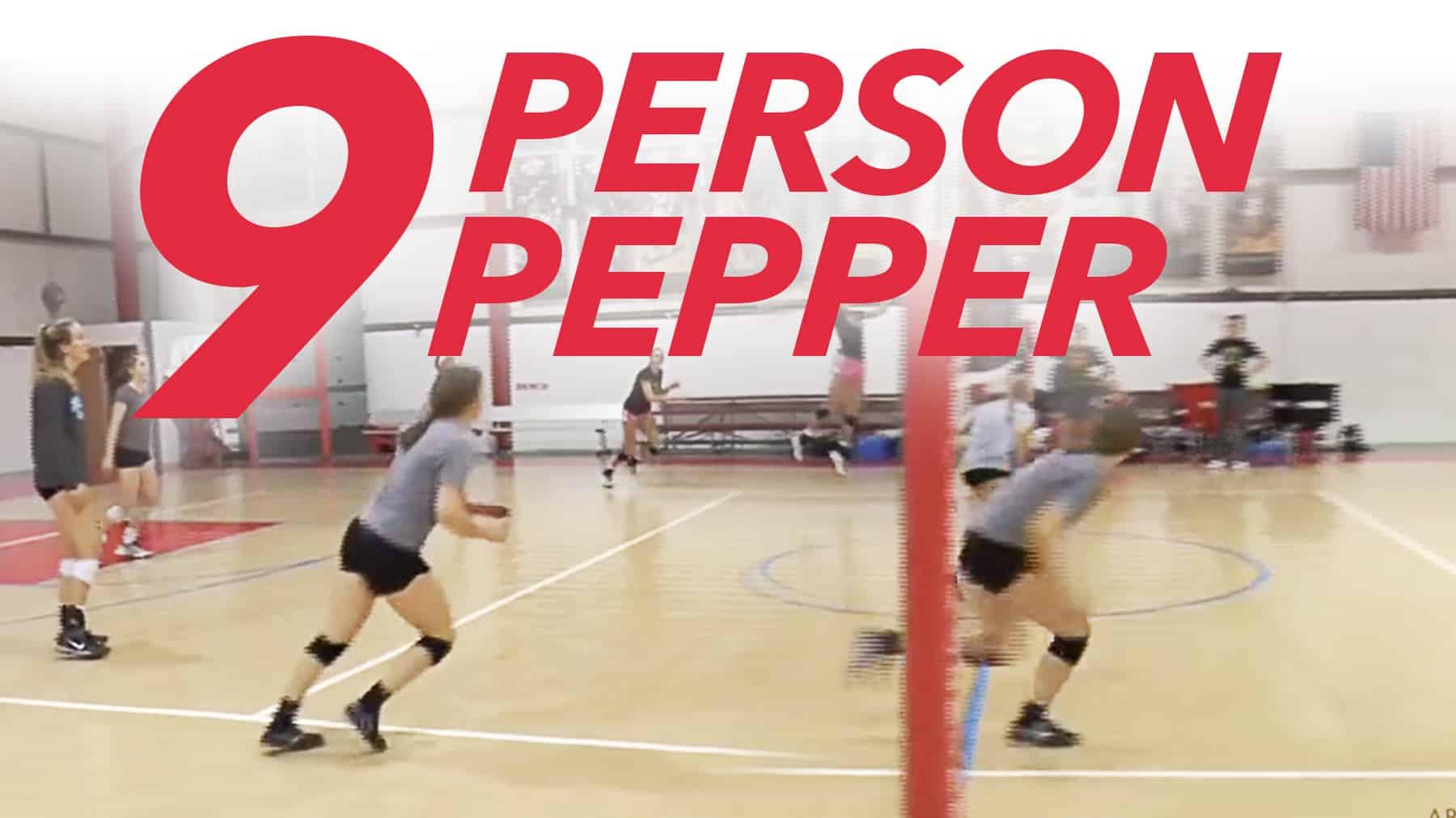 9 Person Pepper Drill