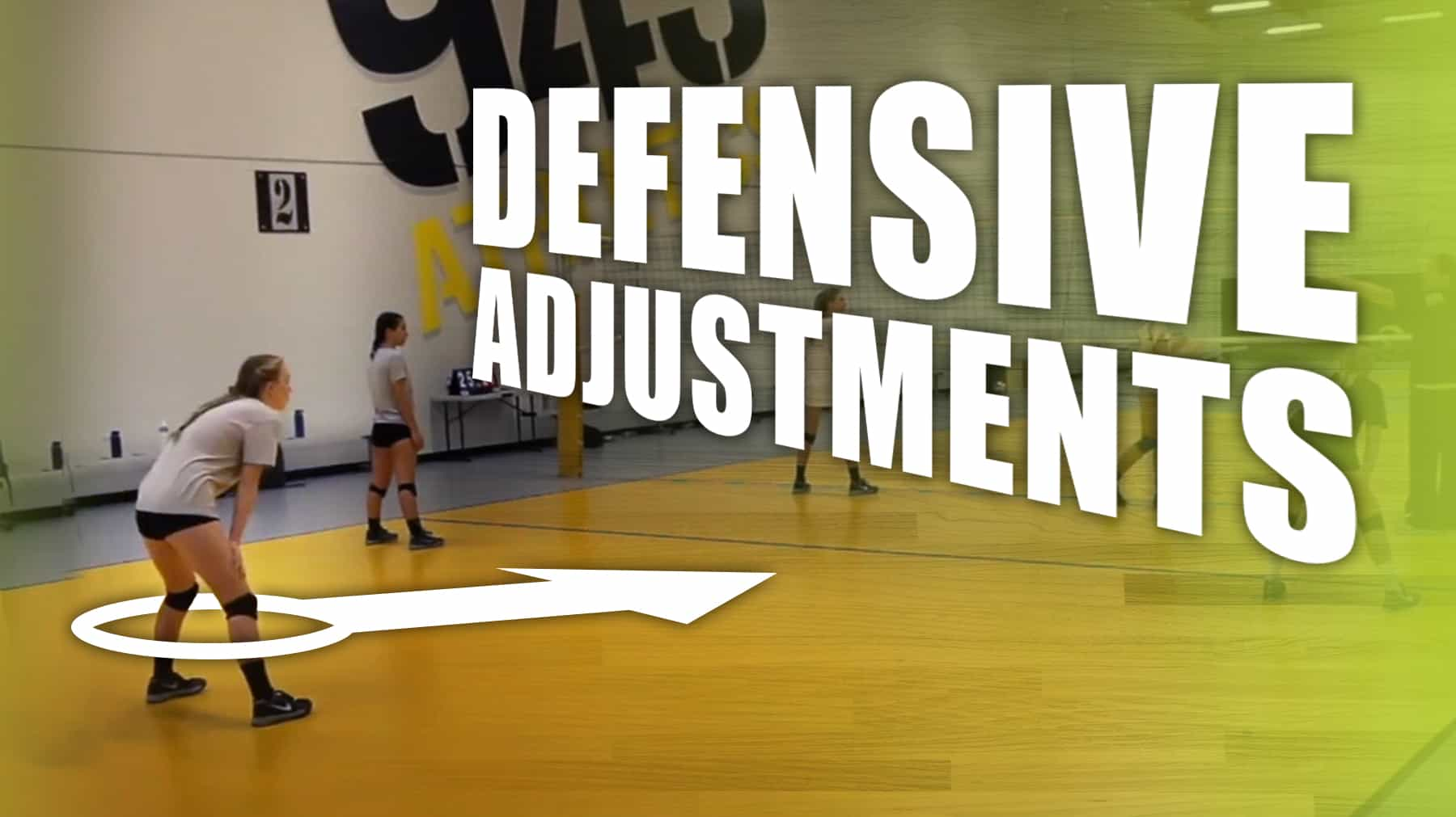 Defensive Adjustments For Hole In The Block And Wide Set