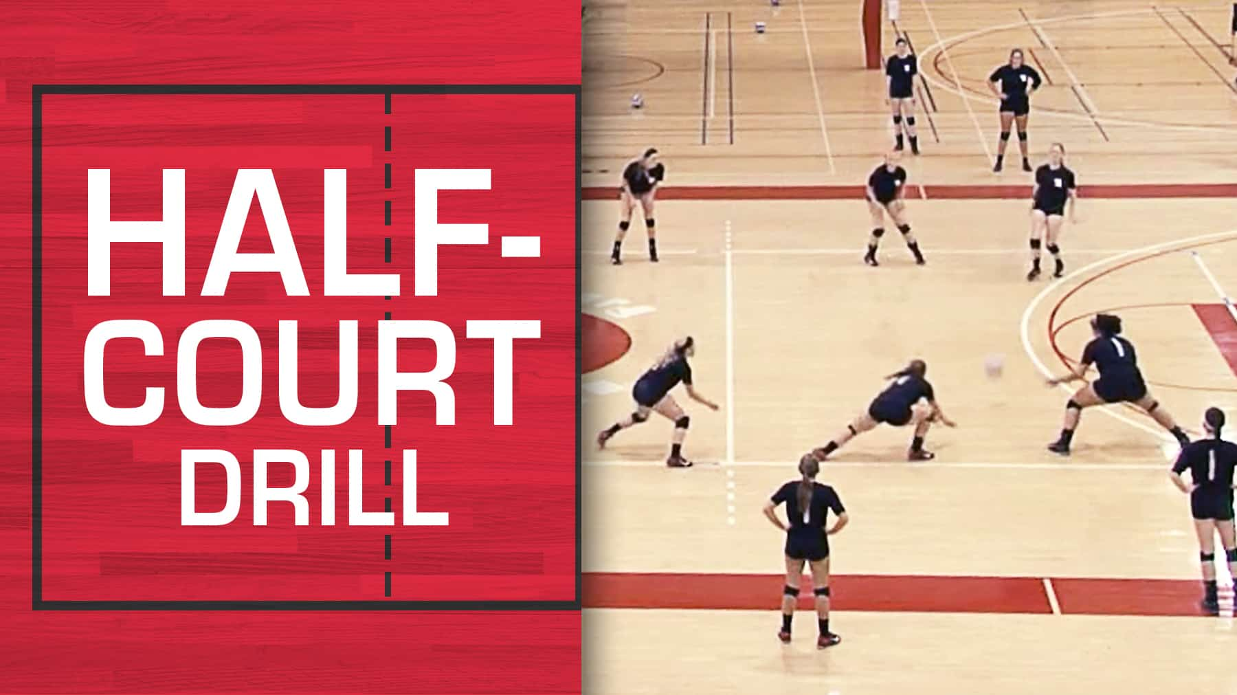 Half Court Drill For Creative Ball Control Training