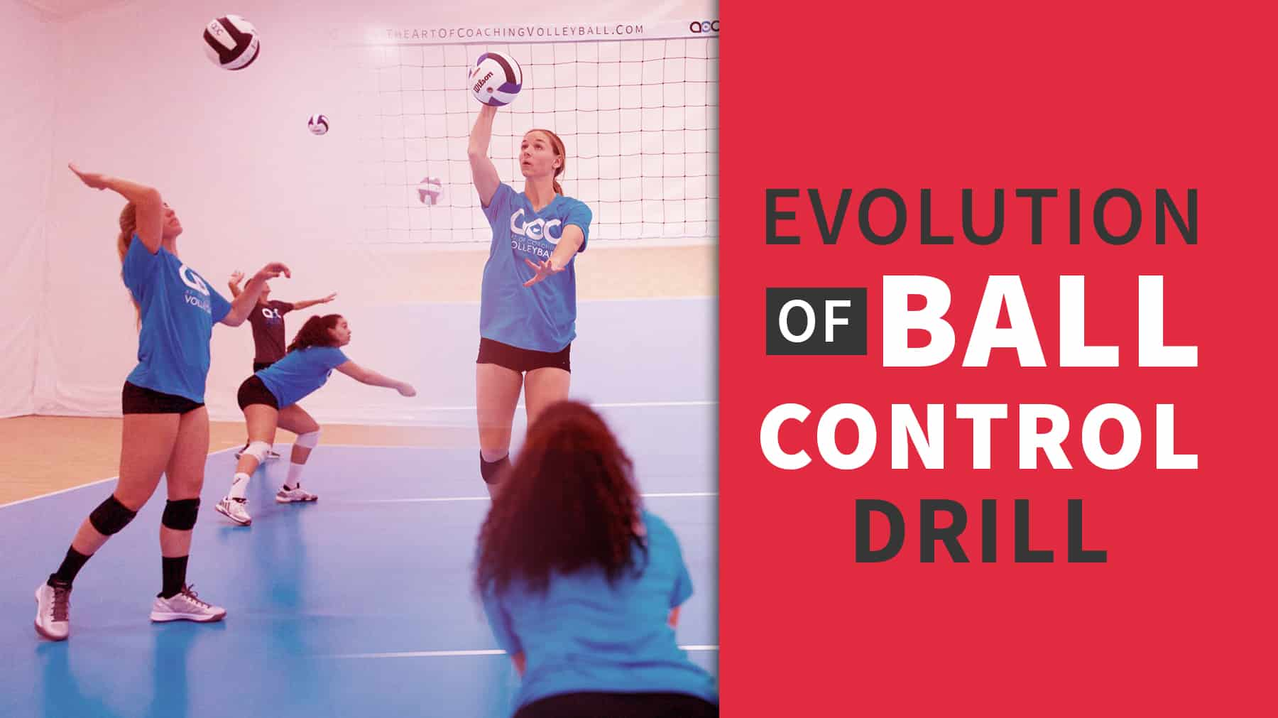 Evolution Of Ball Control Drill