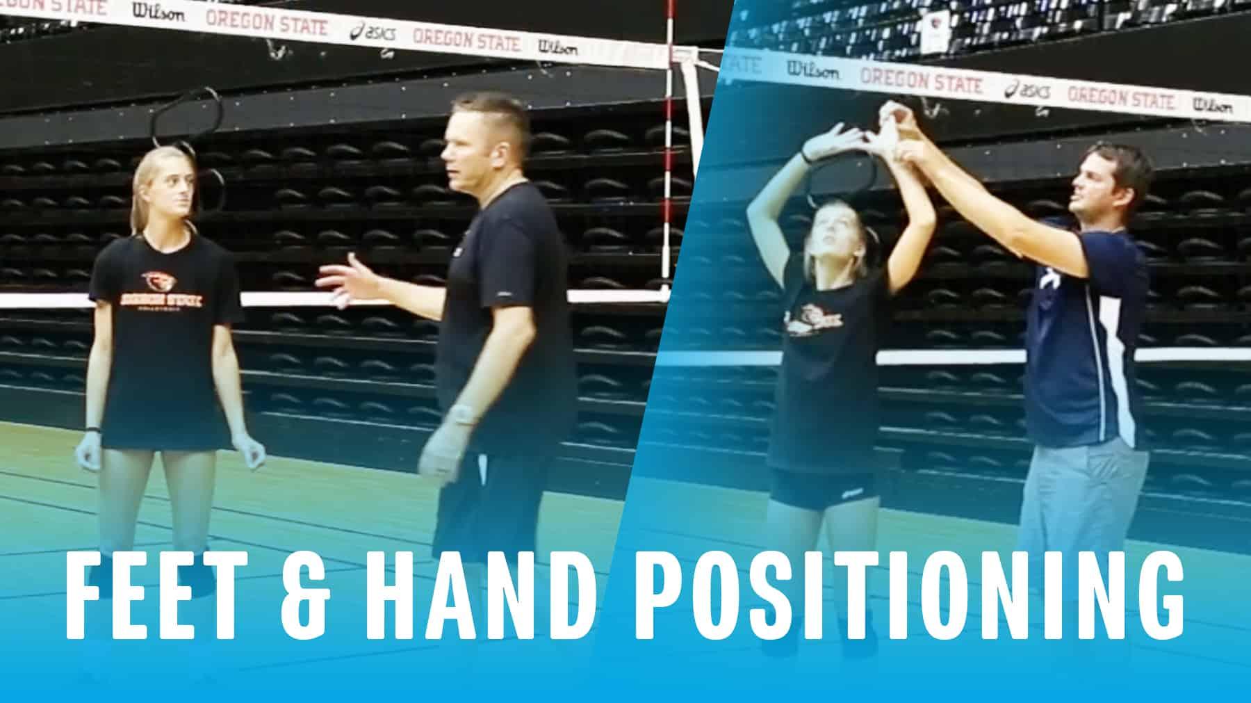 Setting Feet Amp Hand Positioning