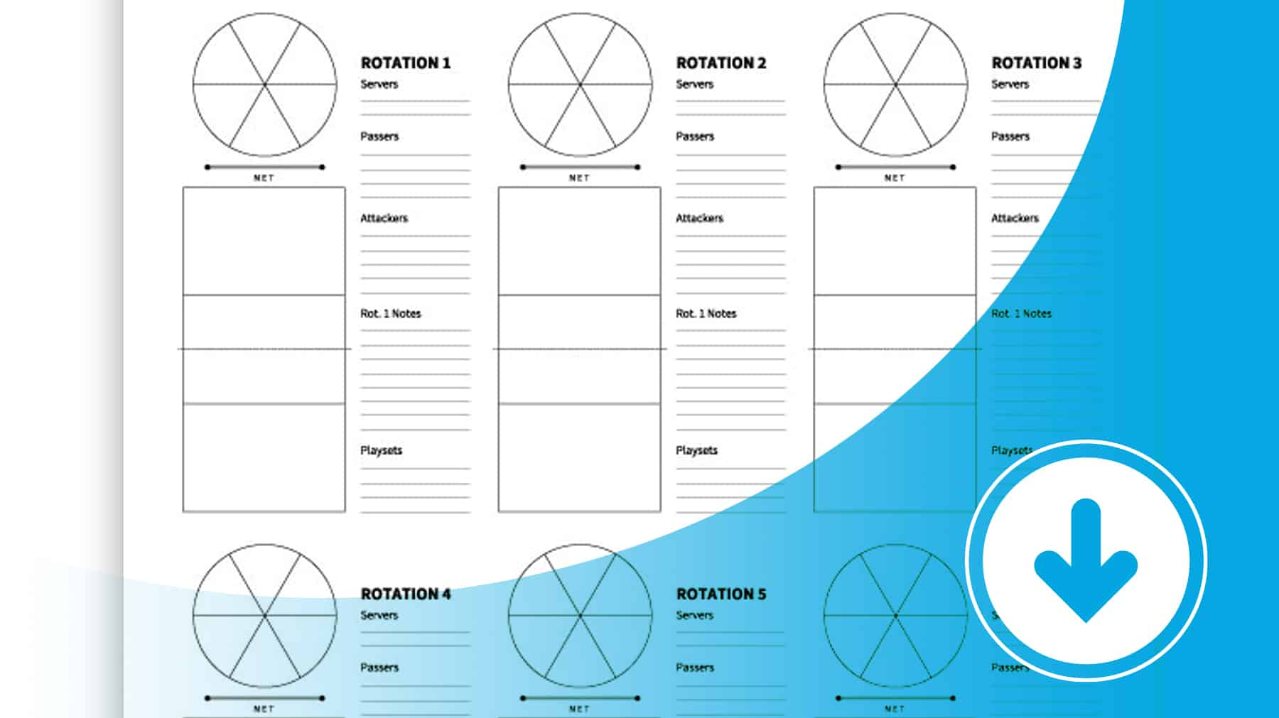 6 Court Chart Worksheet