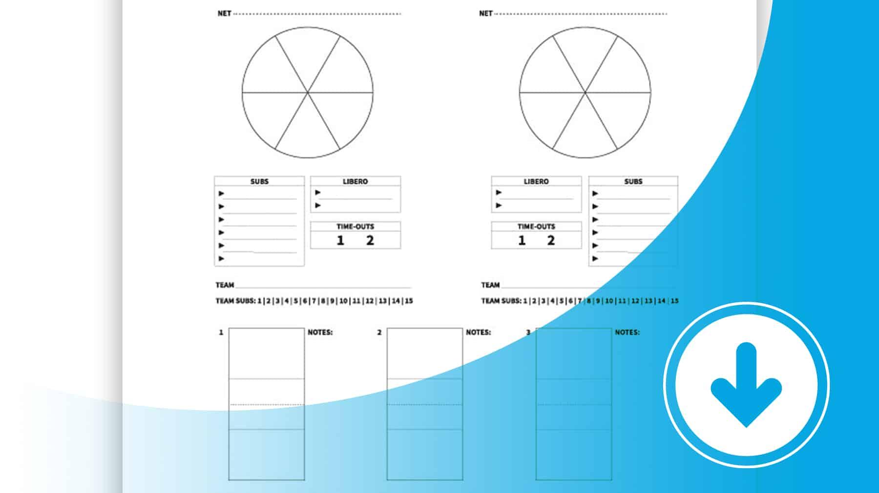 Starting Line Up Worksheet