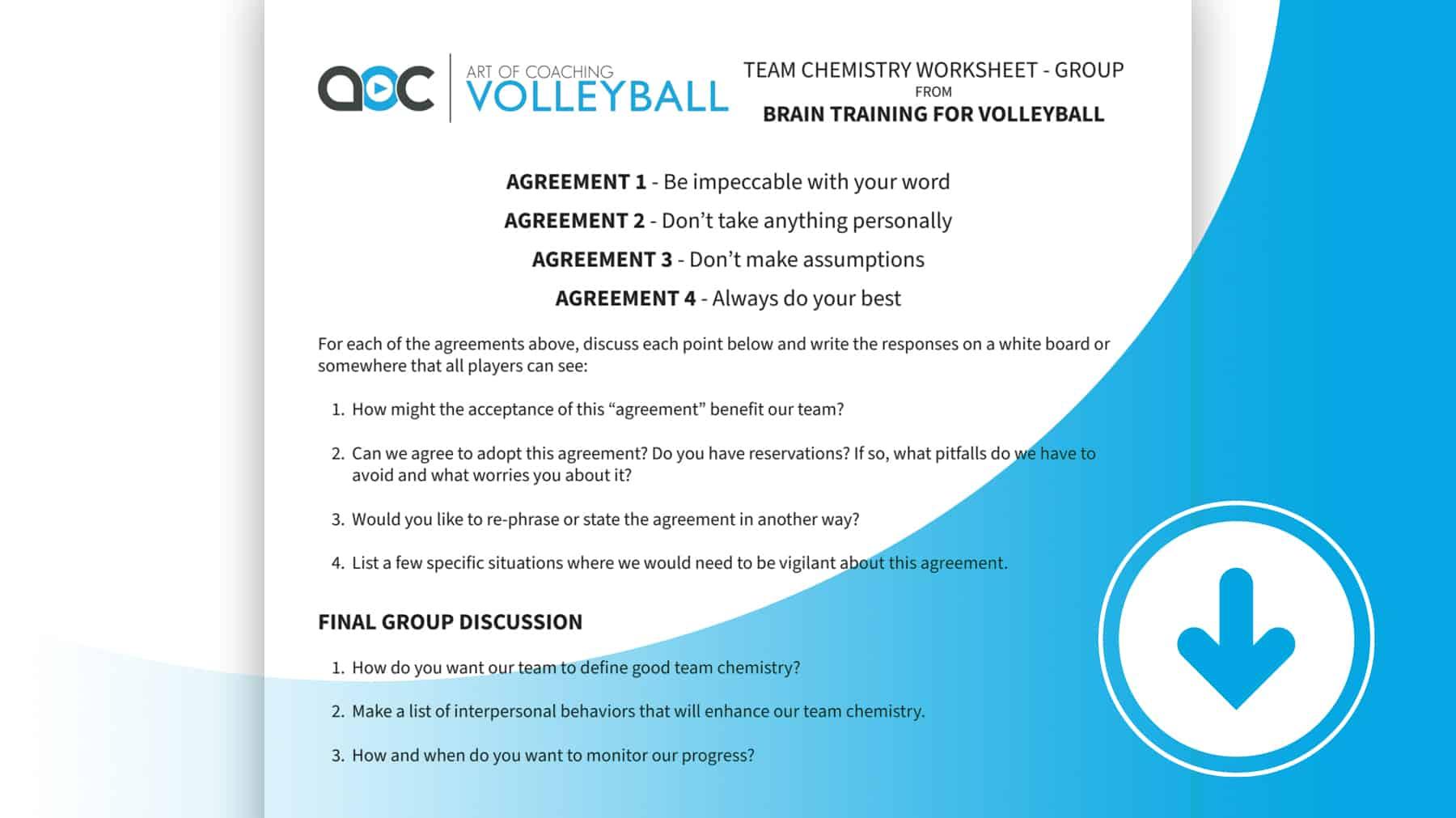 Team Chemistry Group Worksheet
