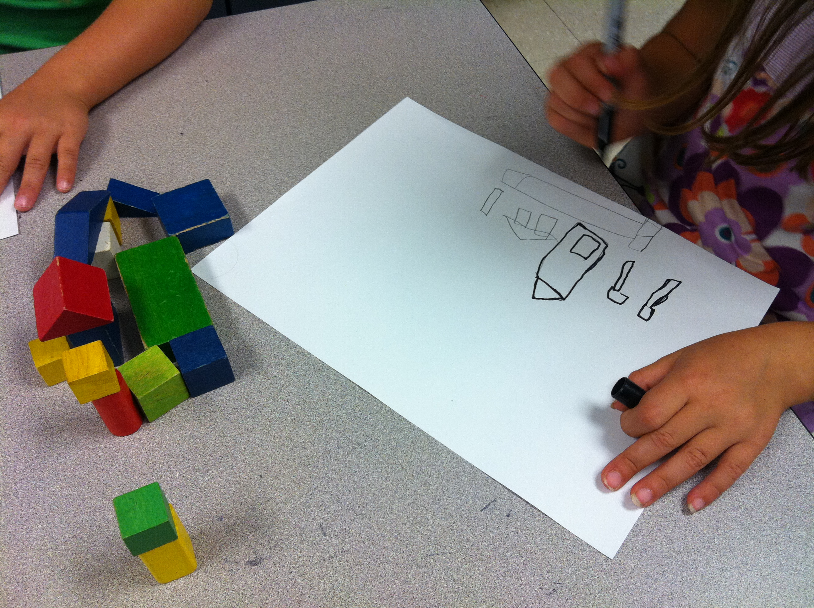 You Can Do Observational Drawing In Kindergarten