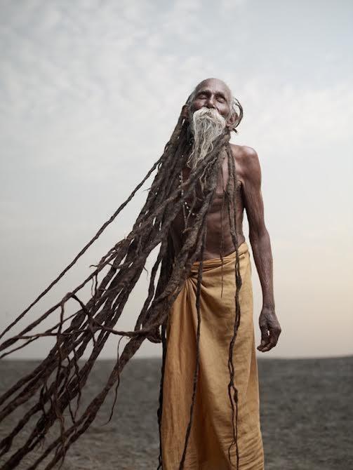 Découvrez les hommes spirituels d'Inde à travers de magnifiques photos
