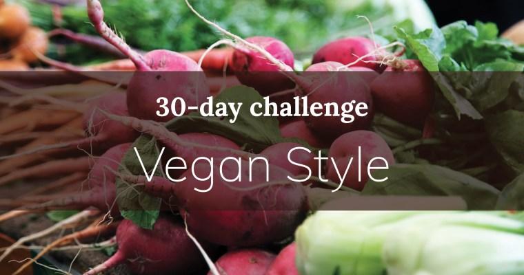 30-day challenge: Vegan style