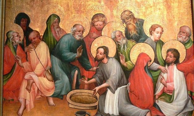 Water as Foreshadow in John 13:1-17