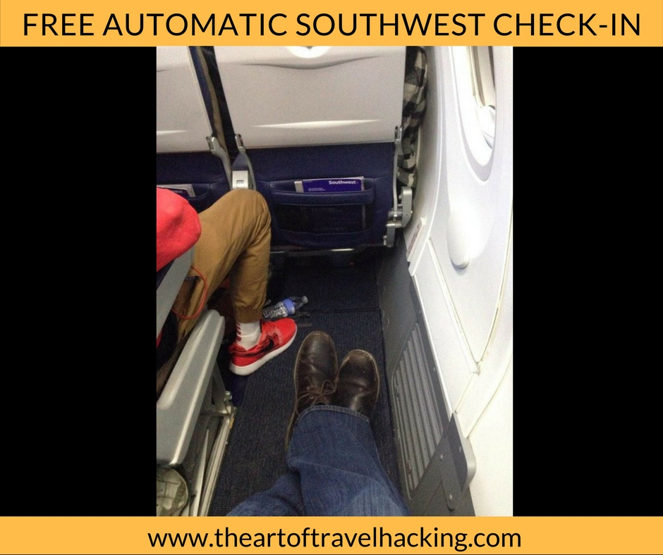 Automatic Check-In for Southwest Flights