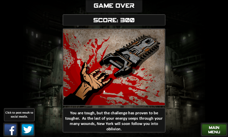 Chainsaw Warrior: dead again