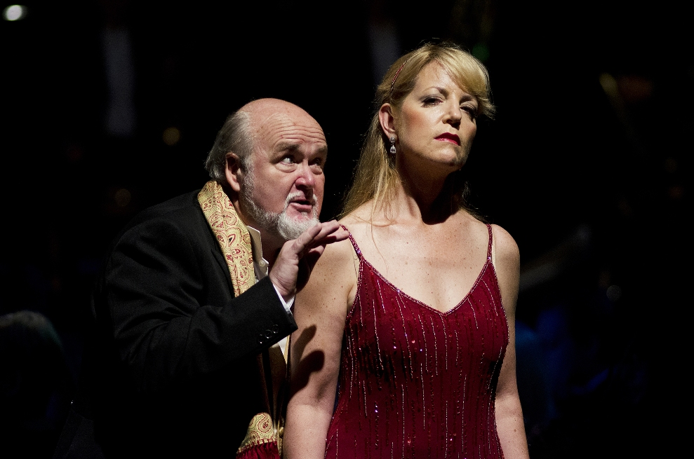 Begley and Lindstrom in Bournemouth Salome
