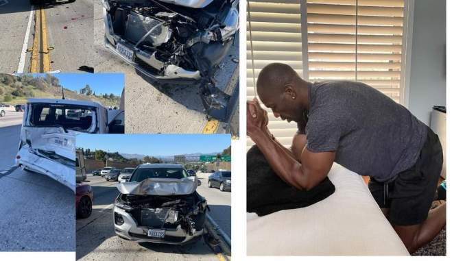 Terrell Owens Car Accident - Terrell Owens Up and Thankful