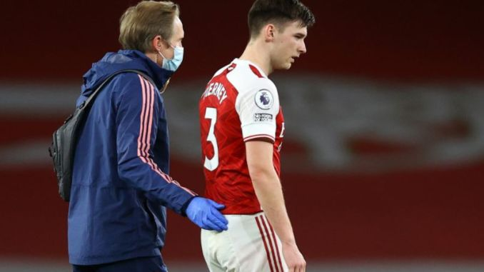 Arsenal injury updates on Kieran Tierney and Martin Odegaard