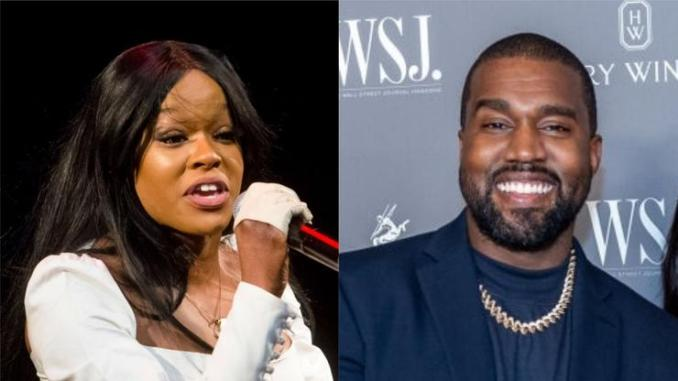 Azealia Banks Distances Herself From Kanye West After Shooting Her Shot