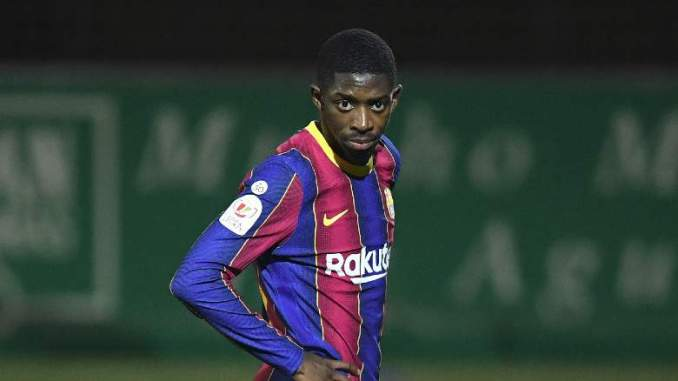 Barcelona Hit By Fresh Dembele Injury Worry: Report