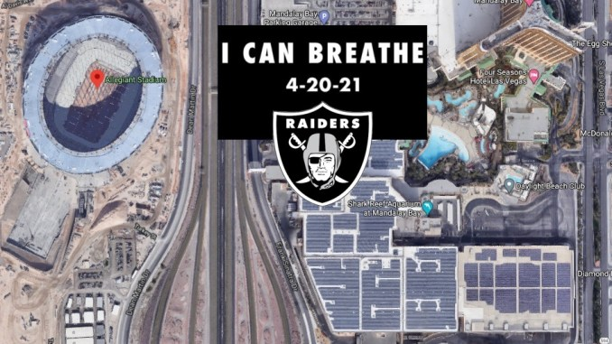 Confusion After LV Raiders Post 'I CAN BREATHE' On Twitter Following Chauvin Verdict