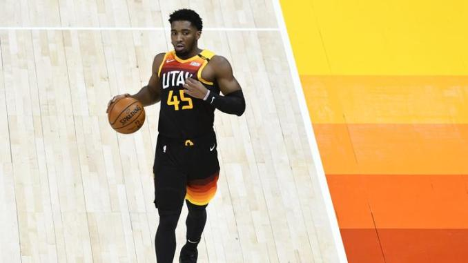 Donovan Mitchell To Receive MRI After Awkwardly Landing On Ankle
