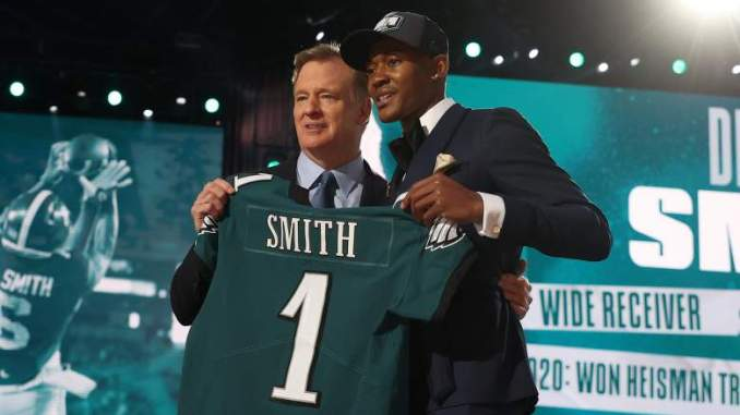 Eagles Make Bold Trade with NFC East Rival, Draft 'Slim Reaper'