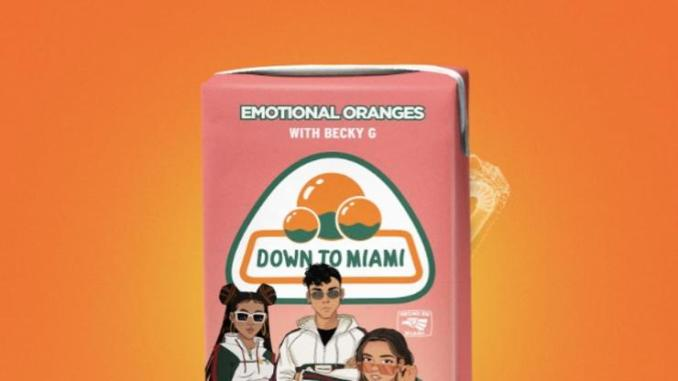 """Emotional Oranges Taps Becky G For """"Down To Miami"""""""