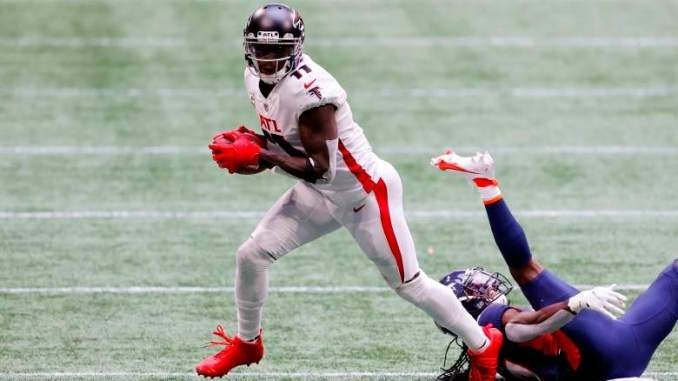 Falcons 'Listening to Offers' for WR Julio Jones: Reports