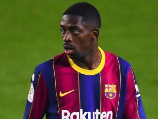 Injured Dembele Out Of Barcelona's Clash With Getafe