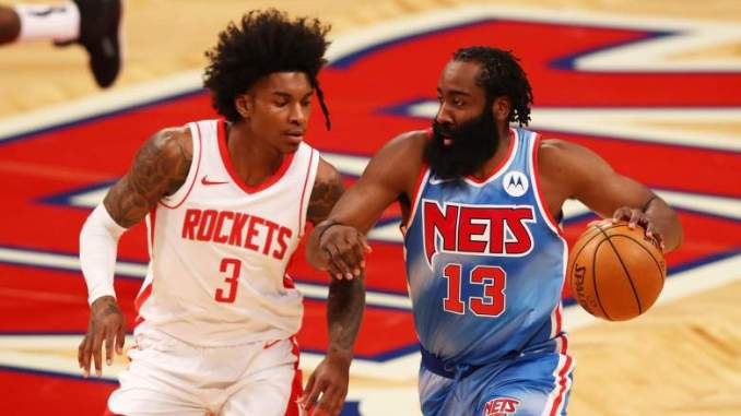 James Harden Pays Respect to Emerging Rockets Star [LOOK]