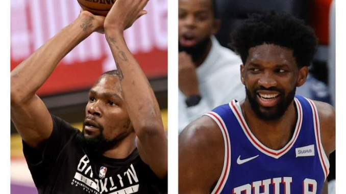 Joel Embiid Pays Kevin Durant the Ultimate Compliment