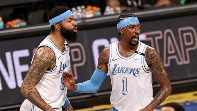 Lakers' Markieff Morris Claps Back After Getting Called Out
