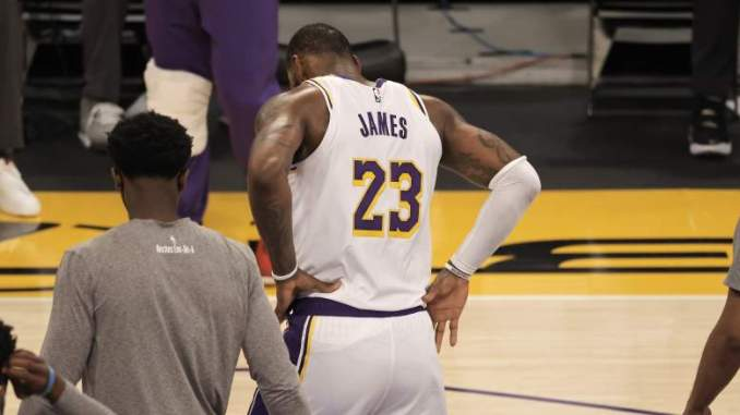LeBron's Absence Could Make Lakers' Offense Historically Bad