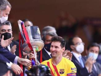 Lionel Messi's Agent in Barcelona Amid New Contract Talk