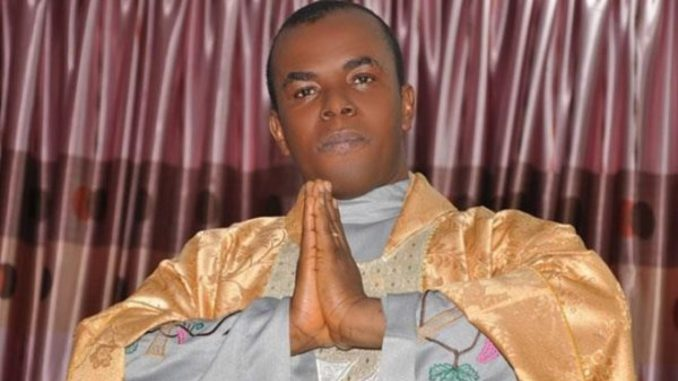 Mbaka asked Buhari for contract as reward – Presidency