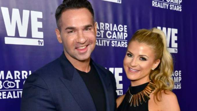 Mike & Lauren Sorrentino Tease Their Baby's Name