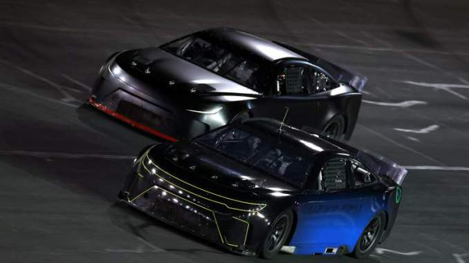 NASCAR Makes History With Ice Track Run [WATCH]