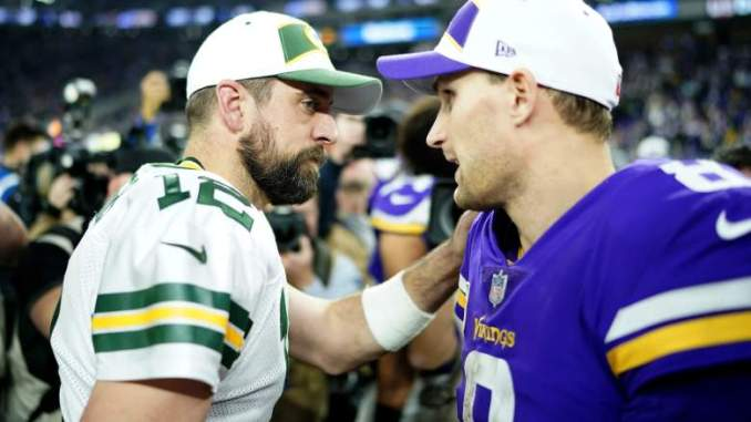 Packers Fans Freak Out Over Aaron Rodgers-Kirk Cousins Stat