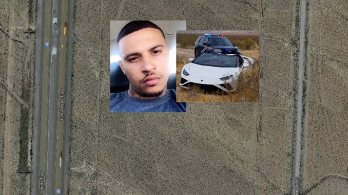 Quentin Sargent ID'd As Texas Man Nabbed 'Off-Roading' Lamborghini In Nevada