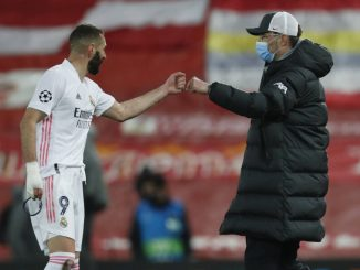 Real Madrid star Benzema still in pain from Liverpool tackle