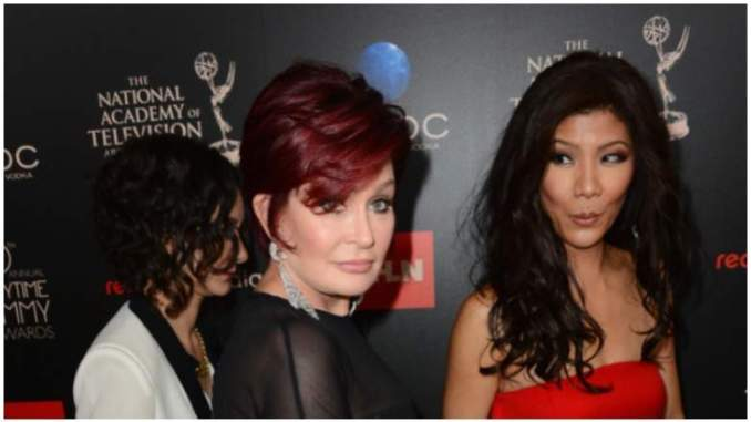 Sharon Osbourne Denies Calling Julie Chen Racist Names In New Interview With Bill Maher
