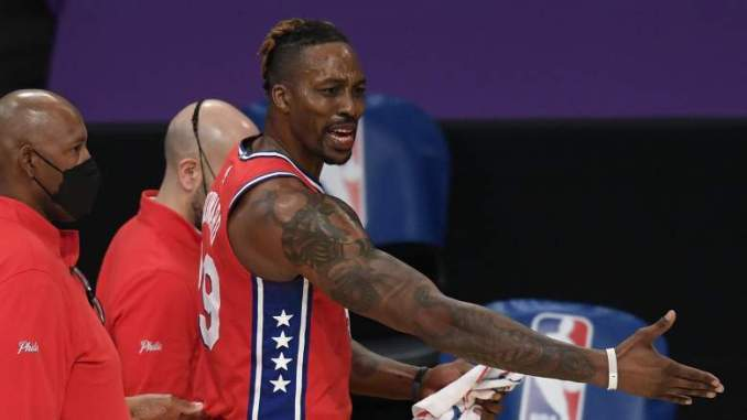 Sixers' Doc Rivers Defends Dwight Howard on Technical Fouls