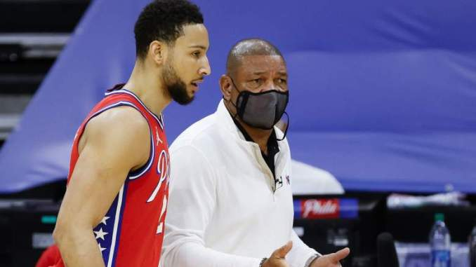 Sixers' Doc Rivers on Ben Simmons' Illness: 'I Am Not a Real Doctor'