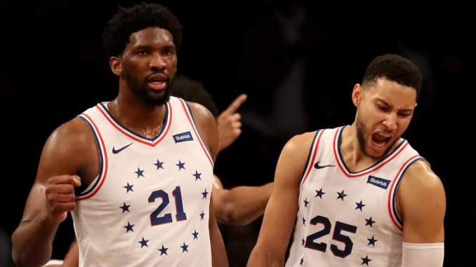 Sixers' Embiid Implores Simmons to Get Aggressive