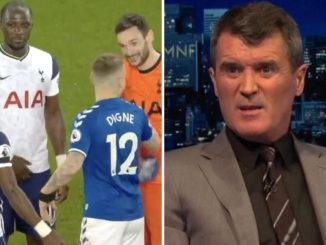 Spurs fans angry after trio joke with Lucas Digne post-match