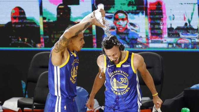 Steph Curry's Hot Stretch Has Made Warriors History