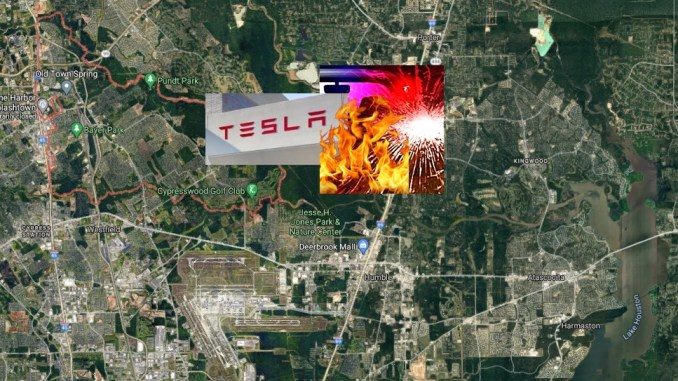 TX Cops 'No One In Tesla Driver Seat' At Time Of Fiery Houston Double-Fatal Crash